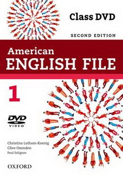 American English File (2nd Edition) 1 DVD -  - 9780194775670