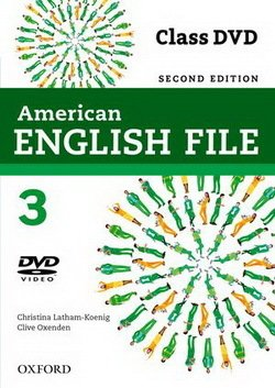 American English File (2nd Edition) 3 DVD -  - 9780194775694