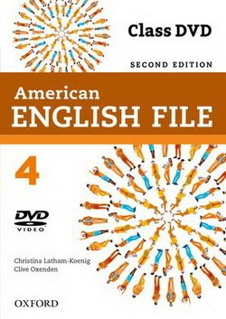 American English File (2nd Edition) 4 DVD -  - 9780194775700