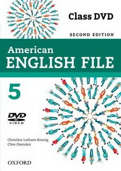 American English File (2nd Edition) 5 DVD -  - 9780194775717