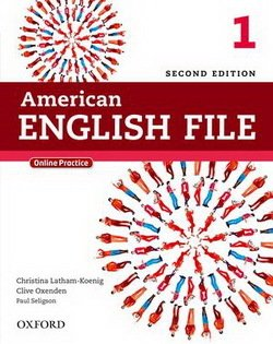 American English File (2nd Edition) 1 Student's Book with iTutor -  - 9780194776158