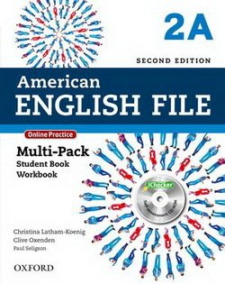 American English File (2nd Edition) 2 MultiPACK 2A with iTutor & iChecker -  - 9780194776240