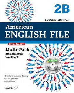 American English File (2nd Edition) 2 MultiPACK 2B with iTutor & iChecker -  - 9780194776257