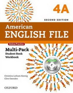 American English File (2nd Edition) 4 MultiPACK 4A with iTutor & iChecker -  - 9780194776288