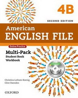 American English File (2nd Edition) 4 MultiPACK 4B with iTutor & iChecker -  - 9780194776295
