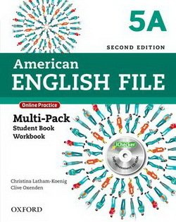 American English File (2nd Edition) 5 MultiPACK 5A with iTutor & iChecker -  - 9780194776301