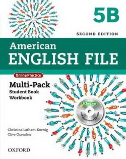 American English File (2nd Edition) 5 MultiPACK 5B with iTutor & iChecker -  - 9780194776318