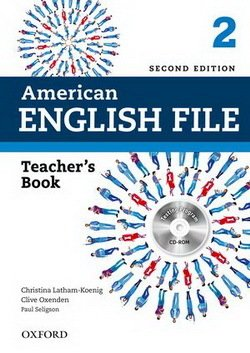 American English File (2nd Edition) 2 Teacher's Book with Test & Assessment CD-ROM -  - 9780194776349