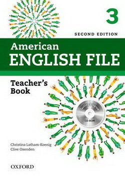 American English File (2nd Edition) 3 Teacher's Book with Test & Assessment CD-ROM -  - 9780194776356