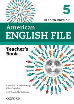 American English File (2nd Edition) 5 Teacher's Book with Test & Assessment CD-ROM -  - 9780194776370