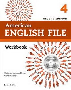 American English File (2nd Edition) 4 Workbook without Key with iTutor -  - 9780194776424