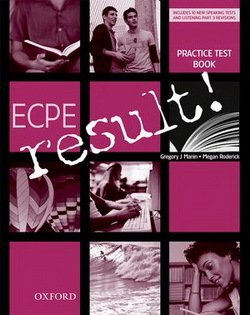 ECPE Result Practice Tests with Audio CD - Gregory Manin - 9780194817332