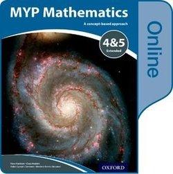 MYP Mathematics 4 & 5 Extended Online Student's Book (eBook) (Internet Access Code) - Marlene Torres-Skoumal - 9780198356240