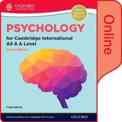 Psychology for Cambridge International AS & A Level (2nd Edition) Student's Book Pack (Print & Online Editions) - Craig Roberts - 9780198366775