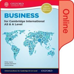 Business for Cambridge International AS & A Level Online Student Book (eBook) (Internet Access Code) - Peter Joyce - 9780198379423