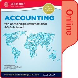 Accounting for Cambridge International AS & A Level Online Student Book (eBook) (Internet Access Code) - David Austen - 9780198379911