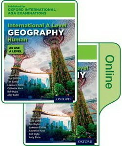 Oxford International AQA Examinations: International A Level Human Geography Student's Book Pack (Print & Online Editions) - Simon Ross - 9780198417415