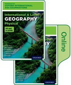 Oxford International AQA Examinations: International A Level Physical Geography Student's Book Pack (Print & Online Editions) - Simon Ross - 9780198417477