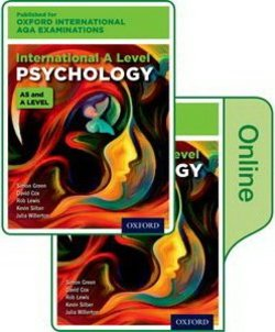 Oxford International AQA Examinations: International A Level Psychology Student's Book Pack (Print & Online Editions) - Julia Willerton - 9780198417590