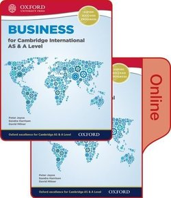 Business for Cambridge International AS & A Level Student's Book Pack (Print & Online Editions) - Sandra Harrison - 9780198417842