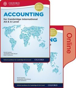 Accounting for Cambridge International AS & A Level Student's Book Pack (Print & Online Editions) - David Austen - 9780198417859