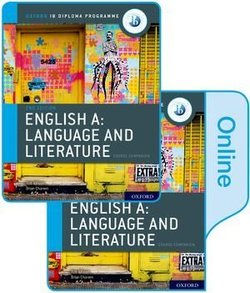 Oxford IB Diploma Programme: English A Language and Literature (2021 Exam) Student's Book Pack (Print & Online Editions) - Brian Chanen - 9780198434580