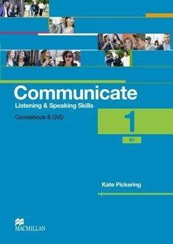 Communicate Listening & Speaking Skills 1 (B1) Student's Book Pack - Kate Pickering - 9780230440180