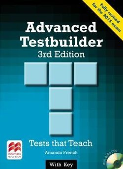 Advanced (CAE) Testbuilder with Key & Audio CD - Amanda French - 9780230476202