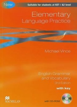 Elementary Language Practice (New Edition) with Answer Key & CD-ROM - Vince Michael - 9780230726963