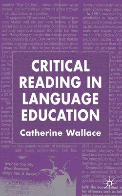 Critical Reading in Language Education (Hardback) - C. Wallace - 9780333985793