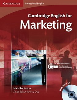 Cambridge English for Marketing Student's Book with Audio CDs (2) - Robinson