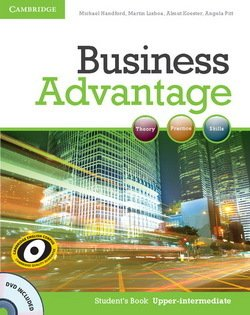 Business Advantage Upper Intermediate Student's Book with DVD - Handford