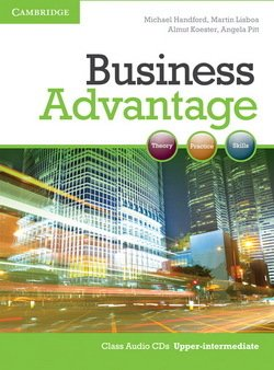 Business Advantage Upper Intermediate Audio CDs (2) - Michael Handford - 9780521132183