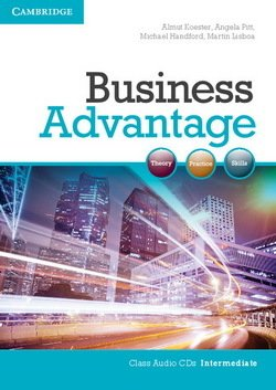Business Advantage Intermediate Audio CDs (2) - Koester