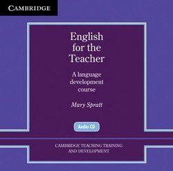 English for the Teacher Audio CDs (2) - Mary Spratt - 9780521154970