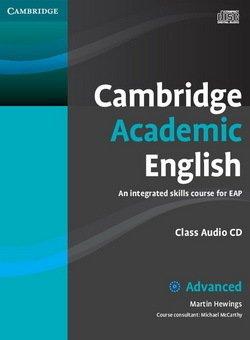 Cambridge Academic English C1 Advanced Class Audio CD - Martin Hewings - 9780521165242