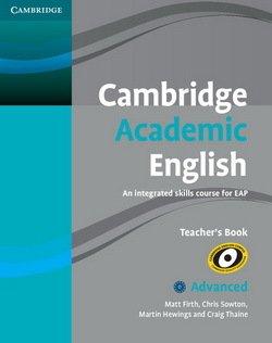 Cambridge Academic English C1 Advanced Teacher's Book - Matt Firth - 9780521165273