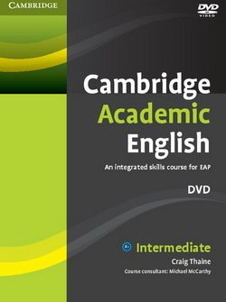 Cambridge Academic English B1+ Intermediate DVD - Craig Thaine - 9780521165280