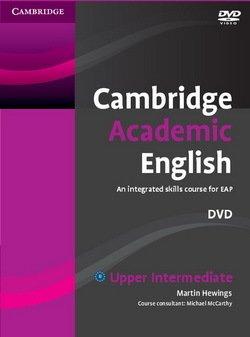 Cambridge Academic English B2 Upper Intermediate DVD - Martin Hewings - 9780521165297