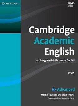 Cambridge Academic English C1 Advanced DVD - Martin Hewings - 9780521165310