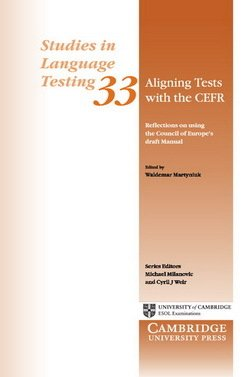 Aligning Tests with the CEFR (SILT 33) - Waldemar Martyniuk - 9780521176842