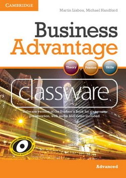 Business Advantage Advanced Classware DVD-ROM - Martin Lisboa - 9780521179294