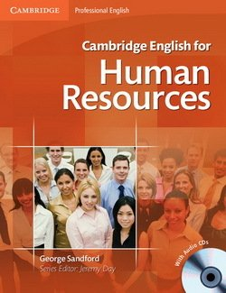 Cambridge English for Human Resources Intermediate - Upper Intermediate Student's Book with Audio CDs (2) - George Sandford - 9780521184694