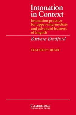 Intonation in Context Teacher's Book - Barbara Bradford - 9780521319157