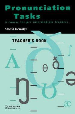 Pronunciation Tasks Teacher's Book - Martin Hewings - 9780521386104
