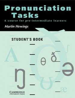 Pronunciation Tasks Student's Book - Martin Hewings - 9780521386111