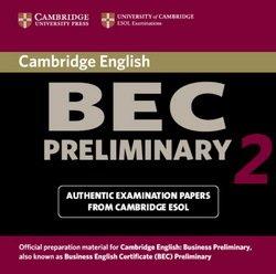 Cambridge BEC Preliminary 2 Audio CD - Cambridge ESOL - 9780521544528