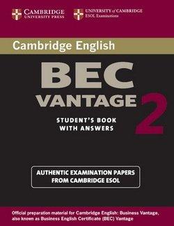 Cambridge BEC Vantage 2 Student's Book with Answers - Cambridge ESOL - 9780521544542