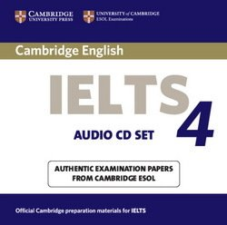 Cambridge English: IELTS 4 Audio CDs (2) - Cambridge ESOL - 9780521544658