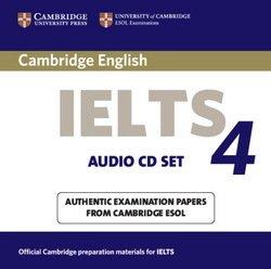 Cambridge English: IELTS 4 Audio CDs (2) - Cambridge ESOL - 9780521544658